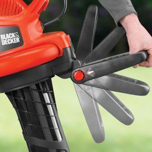 test aspirateur souffleur broyeur Black & Decker GW3030
