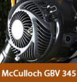 McCulloch GBV 345